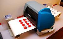 Gerber Edge FX Thermal Transfer Printer